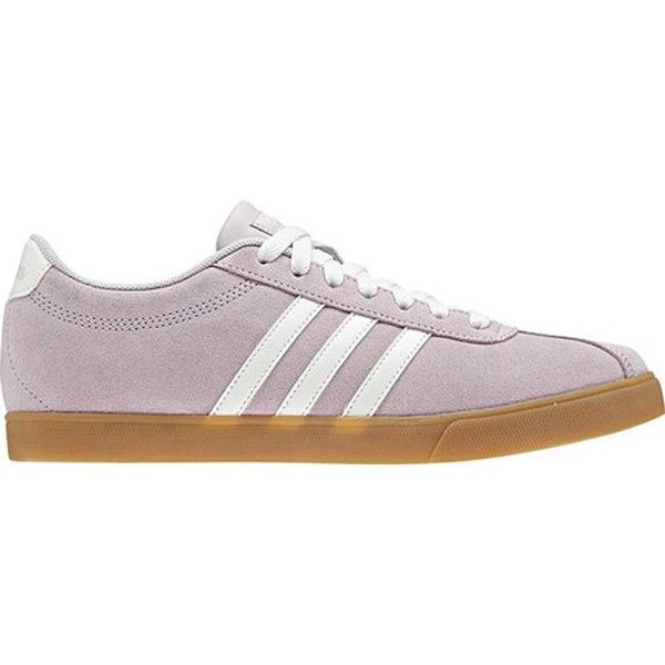 100% authentic 1ed07 0395a Shop adidas Women s NEO Courtset Sneaker Ice Purple Cloud White Ice Purple  - Free Shipping On Orders Over  45 - Overstock - 23156031