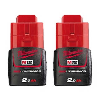 Replacement 2000mAh Battery for Milwaukee 2332 / 2403-20 / 2457-21 Power Tools (2 Pk)|https://ak1.ostkcdn.com/images/products/is/images/direct/adee67794c15f014b479d7bc432b8d96643e2aec/Replacement-Battery-2000mAh-for-Milwaukee-2311-21%C2%A0---2451-22%C2%A0---C12-PC%C2%A0Power-Tool-Models-%282-Pk%29.jpg?impolicy=medium