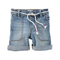 OshKosh B'gosh Little Girls' Stretch Denim Shorts, 5 Kids