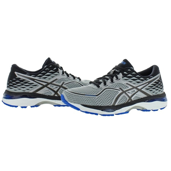 ASICS Mens Gel Cumulus 19 Running Shoe, GreyWhite, 8.5 M US