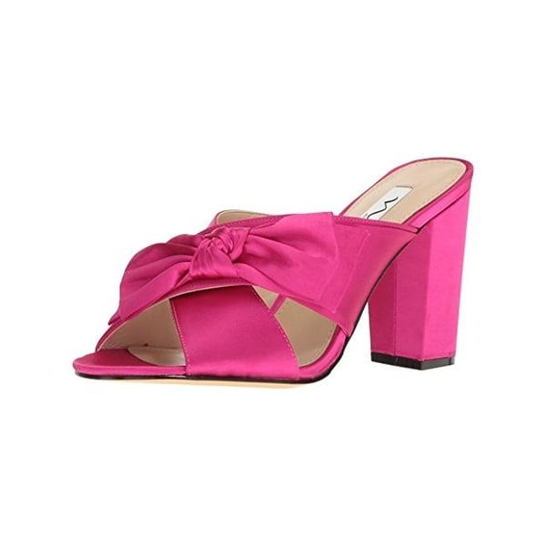 Nina Womens Samina Dress Sandals Bow Open Toe