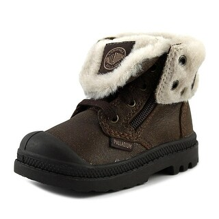 Palladium Baggy Leather S Round Toe Leather Boot