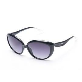 Moschino Women's Oversized Cat Eye Sunglasses Black - Small