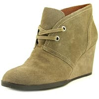 Lucky Brand Womens Seleste Almond Toe Ankle Fashion Boots