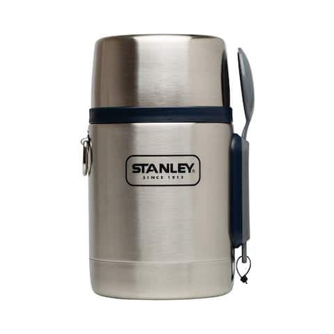 Stanley 10-01287-031 Adventure Vacuum Food Jar, Stainless Steel, 18 Oz