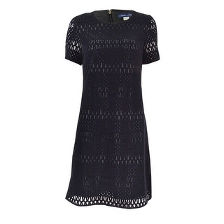 Tommy Hilfiger Women's Velvet Lace A-Line Dress
