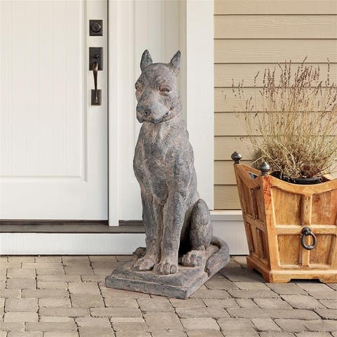 Design Toscano The Great Dane Sentinel Quiet Strength Dog Statue Each