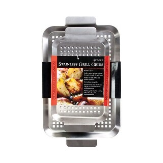 Charcoal Companion CC7081 Grill Grid, Stainless Steel