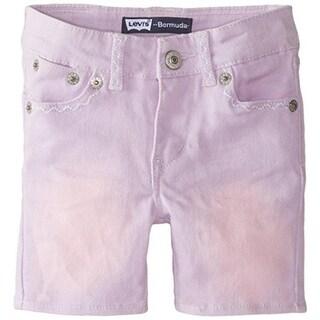 Levi's Betsy Infant Adjustable Waist Denim Shorts - 12 mo