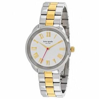Kate Spade Women's Crosstown KSW1062 Silver Dial watch