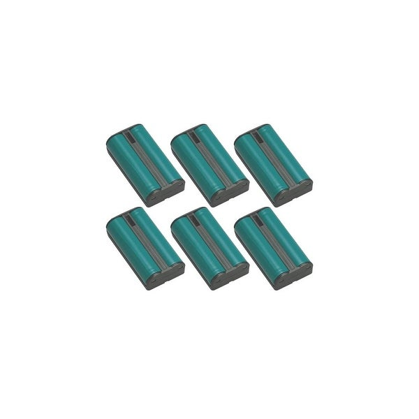 Replacement Panasonic KX-TG2257 NiMH Cordless Phone Battery (6 Pack)