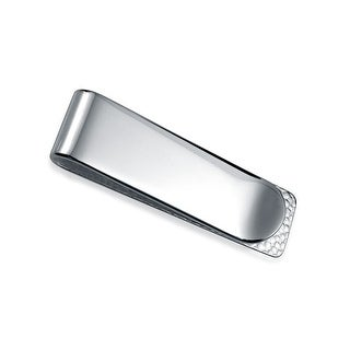 Bling Jewelry High Polish 925 Sterling Silver Mens Money Clip