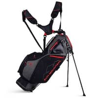 New 2019 Sun Mountain 4.5 LS Golf Stand Bag (Iron / Black / Red) - Iron / Black / Red