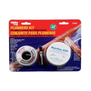 Alpha 53949 Lead-Free Non Electrical Plumbers Kit, 6 Oz