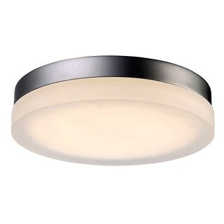 Modern Forms FM-2115-30 Circa 1 Light LED Title 24 Compliant Flush Mount Outdoor Ceiling Fixture - 14 Inches Wide