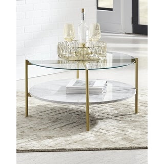 Link to Wynora Round Cocktail Table Similar Items in Living Room Furniture