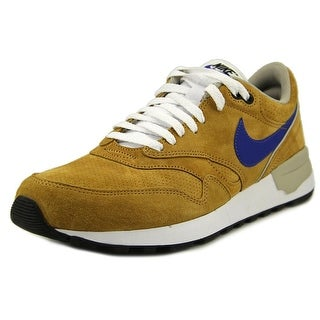 Nike Air Odyssey LTR Men Round Toe Suede Tan Sneakers