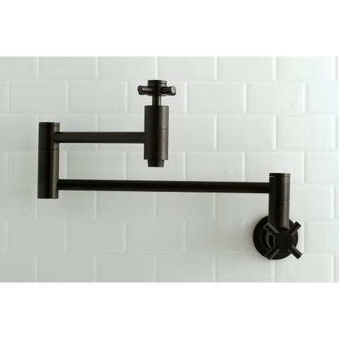 Concord Wall Mount Pot Filler Kitchen Faucet