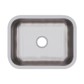 "Elkay DCFU2115  Dayton 23-1/2"" Stainless Steel Undermount Single Basin Kitchen Sink - Soft Satin"