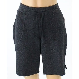 Lucy NEW Gray Womens Size Large L Stretch Two-Pocket Athletic Shorts