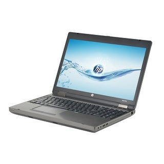 HP Probook 6570B Intel Core i5-3210M 2.5GHz 3rd Gen CPU 4GB RAM 320GB HDD Windows 10 Pro 15.6-inch Laptop (Refurbished)