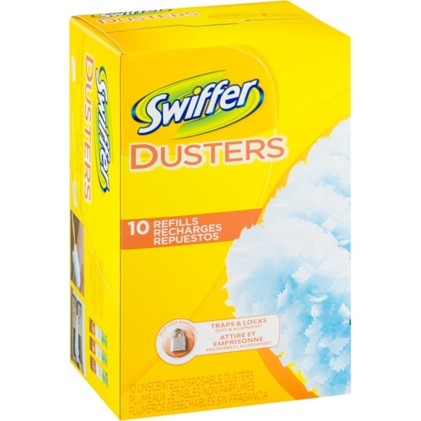 Reasonable Household Yellow Dusters Pack Of 10 Bath & Body