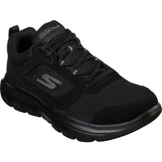 Skechers Men's GOwalk Evolution Ultra Enhance Walking Shoe Black/Black