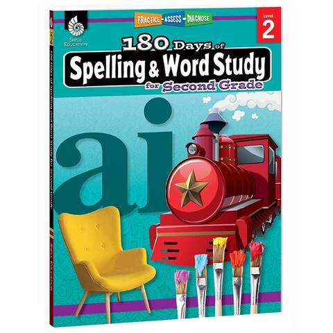 180 Days Spelling & Word Study Gr 2