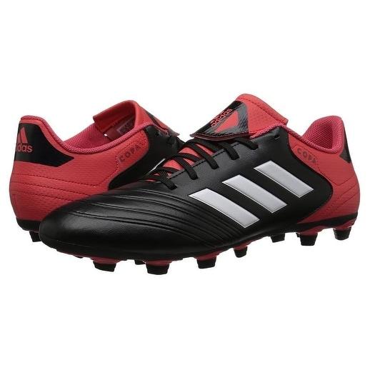 Adidas Mens Copa 18.4 Fxg, Core Black/White/Real Coral