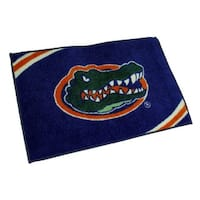 Officially Licensed Florida Gators Non-Skid Throw Rug 20 x 30 inch - Blue