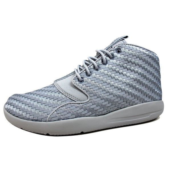 14a5bdbf6da0 Shop Nike Men s Air Jordan Eclipse Chukka Wolf Grey White-Black ...
