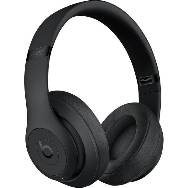 Beats by Dr. Dre - Beats Studio 3 Wireless Noise Canceling Headphones - Matte Black
