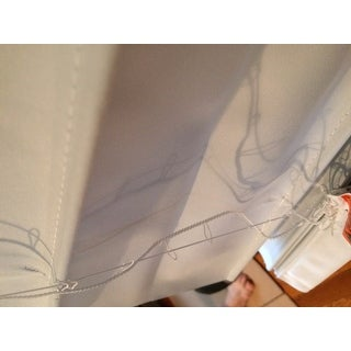 Arlo Blinds Cloud White Cordless Lift Fabric Roman Room Darkening Shades