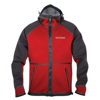 Stormr Typhoon Mens Red/Black Small Jacket For Harsh Weather Conditions