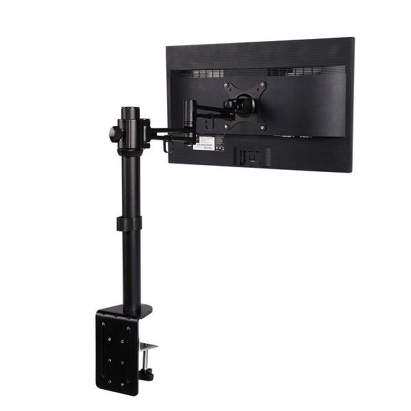 Loctek D2 Monitor Arm Extension Desk Mount Stands Fits Most 10-27 inches LCD Computer Screens ,22 lbs Clamping supporting