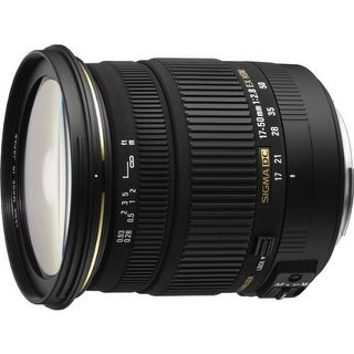 Sigma 17-50mm f/2.8 EX DC HSM FLD Large Aperture Standard Zoom Lens for Sony Digital DSLR Camera (International Model)
