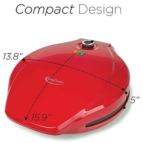 """Betty Crocker 12"""" Pizza Maker with Variable Temperature BC-4958CR"""