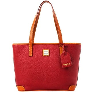 Dooney & Bourke Pebble Grain Charleston (Introduced by Dooney & Bourke at $198 in Aug 2012) - CRANBERRY