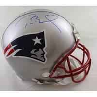 Tom Brady Autographed New England Patriots Proline Helmet TRI