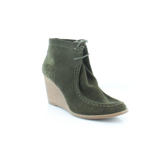 Lucky Brand Ysabel Women's Boots DkGreen - 12