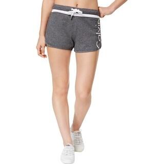 Calvin Klein Performance Womens Shorts Logo Drawstring