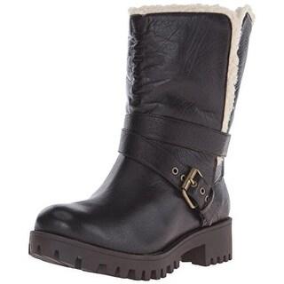 Nine West Womens Olwyn Lined Fold-Over Winter Boots