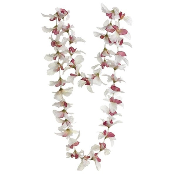 Club pack of 24 artificial cream hawaiian orchid silk flower leis 23 club pack of 24 artificial cream hawaiian orchid silk flower leis 23 white mightylinksfo