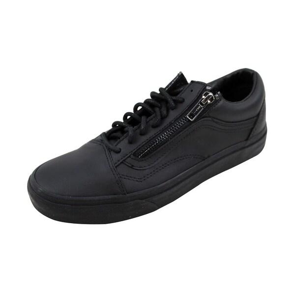 Vans Men's Old Skool Zip Black/Black Gun Metal VN00018GJTL