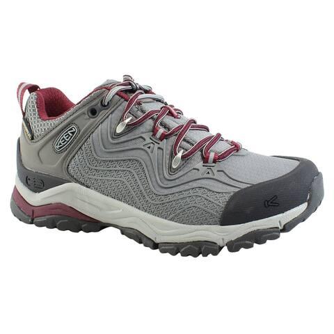 3f4116b3aed2 KEEN Womens Aphlex Raven Gargoyle Hiking Shoes Size 5