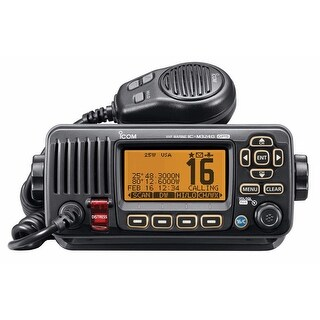 Icom M324G Fixed Mount VHF Marine Transceiver w/Built-In GPS