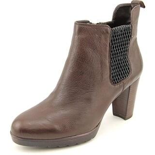 Bella Vita Zana Women WW Round Toe Leather Ankle Boot