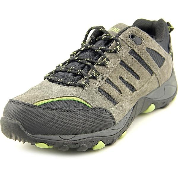 Wolverine Muir Wpf Hiker Men Round Toe Leather Gray Hiking Shoe