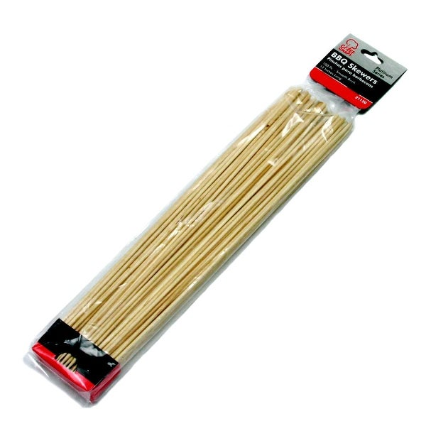 """12"""" Birch Barbeque Skewers - 24 Units"""