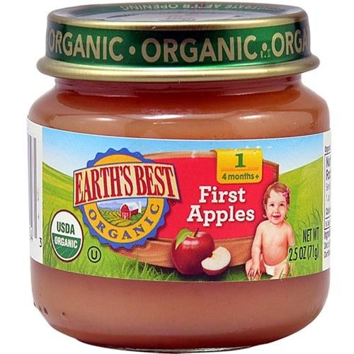 Earth's Best - Organic First Apples ( 12 - 2.5 OZ)